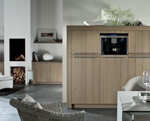 Retro stijl Piet Boon keuken Häcker Systemat