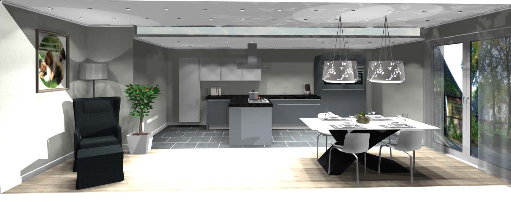 Ontwerp uw eigen keuken wees eens creatief for 3d ontwerp keuken