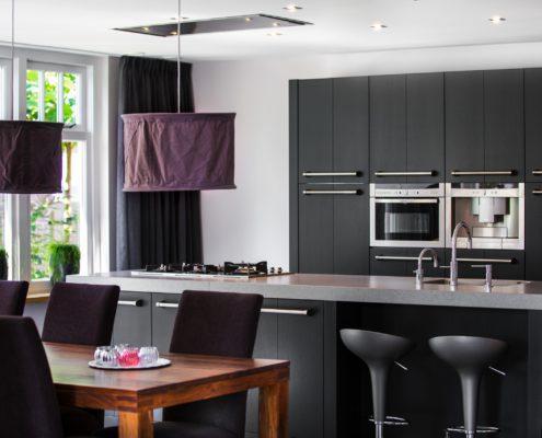 Maatwerk keuken beton look werkblad
