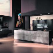 Systemat keuken met kookeiland