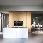 Systemat keuken bij Huizenga Keukenstyle Drachten met kookeiland