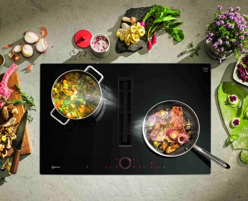 NEFF kookplaat met afzuiging Neff dealer friesland